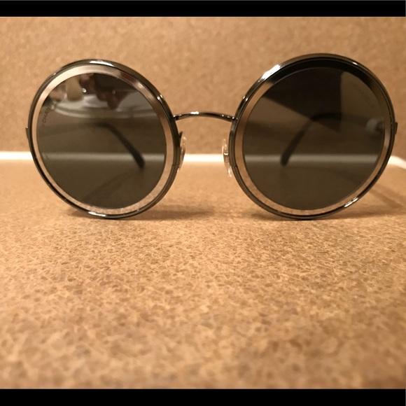 ea26ee86e8c2 CHANEL Accessories - Chanel 4226 Gunmetal Silver Womens
